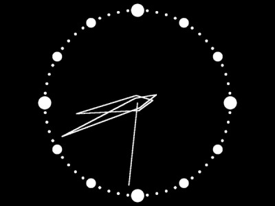 Analog Clock Scr 1.04 screenshot