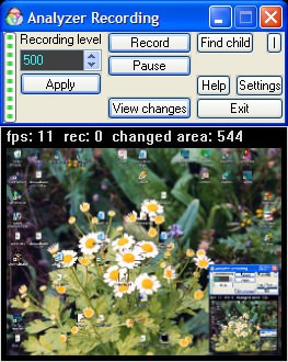 Analyzer Recording 2.0.0.1 screenshot