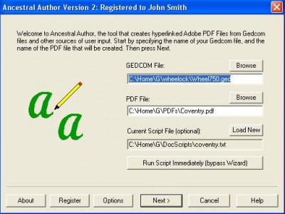 Ancestral Author 2.9.27 screenshot