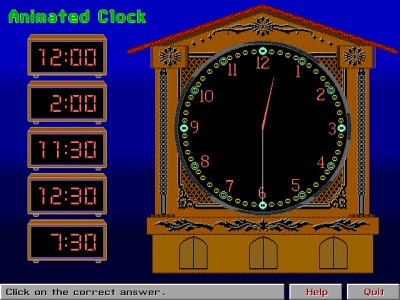 Animated Clock 1.0 screenshot