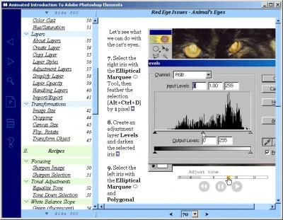 Animated Introduction to Adobe Photoshop Elements 2.0 screenshot