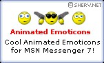 Animated MSN Emoticons Set #1 1.0 screenshot