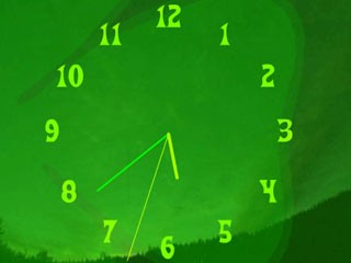 Animated Paddys Clock Screensaver 1.0 screenshot