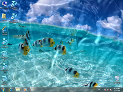 3d animated wallpaper. Animated Wallpaper - Watery