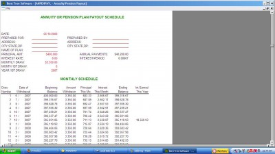 Annuity/Pension Payout+ 1.2 screenshot