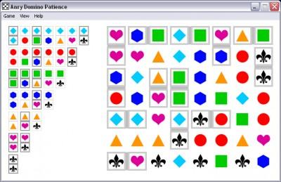 Anry Domino Patience 1.4 screenshot