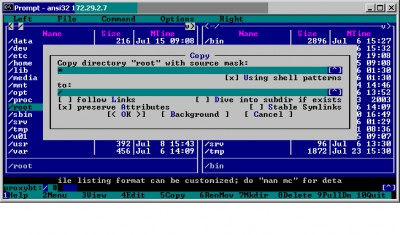 ANSI32 3.01 screenshot