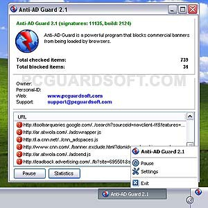 Anti-AD Guard 2.1.2.5 screenshot