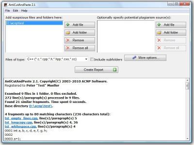 AntiCutAndPaste 2.2 screenshot