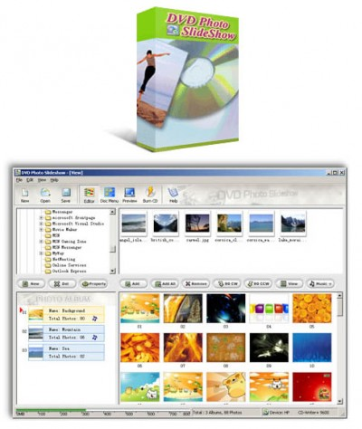 AnvSoft DVD Photo Slideshow 2.13 screenshot