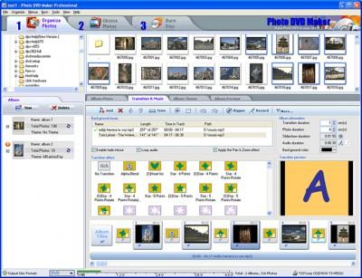 AnvSoft Photo DVD Maker Professional 7.13 screenshot