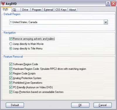 AnyDVD 7.6.9.0 screenshot