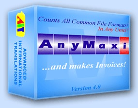 AnyMaxi Word Count Tool with Invoice 5 screenshot