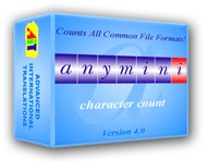 AnyMini C: Character Count Software 4 screenshot