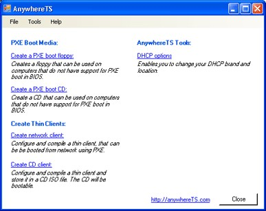 AnywhereTS-Config 2.10 screenshot