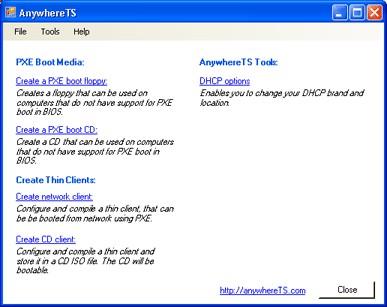 AnywhereTS 3.0.1 screenshot