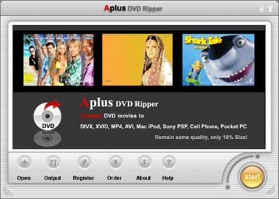 Aplus DVD Ripper 6.003 screenshot