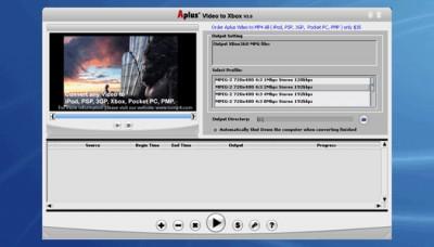 Aplus Video to Xbox 6.38 screenshot