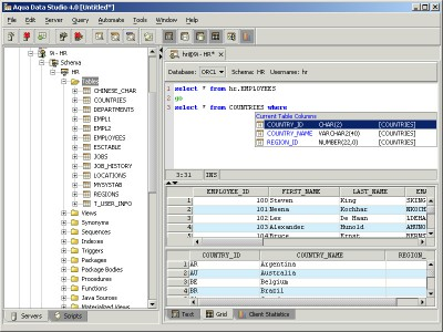 Aqua Data Studio 7.5.11 screenshot