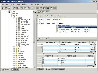 Aqua Data Studio 7.5.11 screenshot