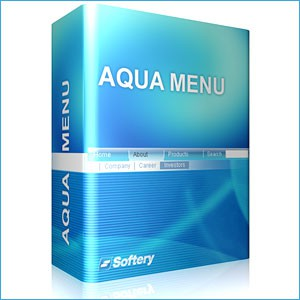 Aqua Flash Menu 1.0.5 screenshot
