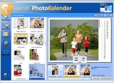 AquaSoft PhotoKalender 3.6.02 screenshot