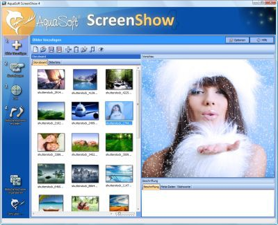 AquaSoft ScreenShow 4.7.11 screenshot