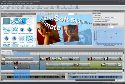 AquaSoft SlideShow Ultimate 9.0.12 screenshot