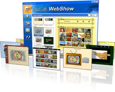 AquaSoft WebShow 3.2.08 screenshot