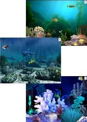 Aquatica Waterworlds Screen Saver 3.61 screenshot
