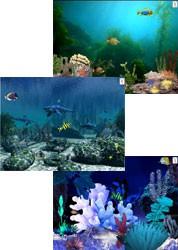Aquatica Waterworlds Screen Saver 3.63 screenshot