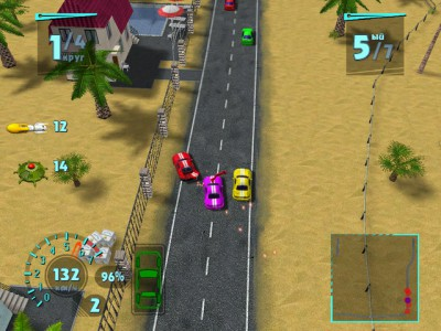 Arcade Race - Crash 1.03 screenshot