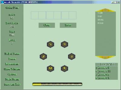 Arcade Scramble 1.0 screenshot