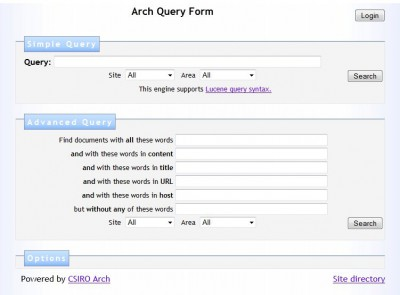Arch Search Engine 1.15 screenshot