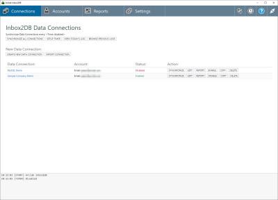 Arclab Inbox2DB 4.0 screenshot