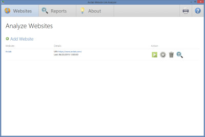 Arclab Website Link Analyzer 2.1 screenshot