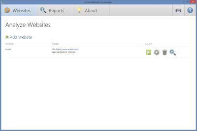 Arclab Website Link Analyzer 2.1 screenshot