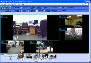 Argus Surveillance DVR 4.0 screenshot