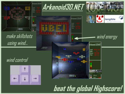 Arkanoid3D.NET 1.3.2.0 screenshot