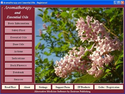 Aromatherapy and Essential Oils 2.8 screenshot