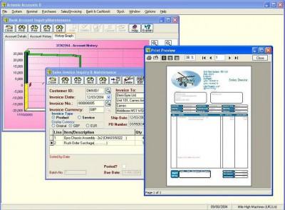 Artemis Accounts - Plus+ 2.91 screenshot