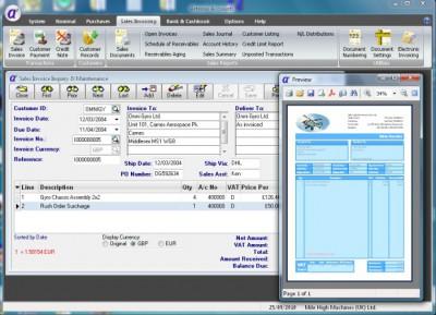 Artemis Accounts 1 3.01 screenshot