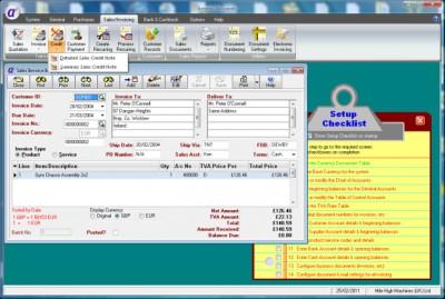 Artemis Accounts 2 3.0.11 screenshot
