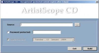 ArtistScope CD 2.0 screenshot