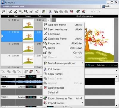Artoonix 1.11 screenshot