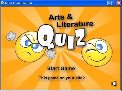 Arts and Literature Quiz 1.0 screenshot