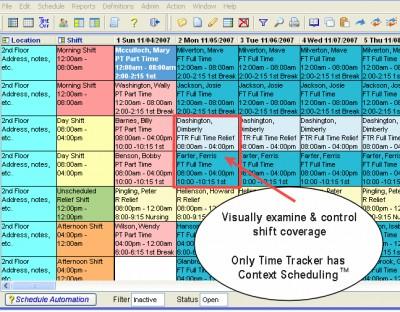 Asgard Employee Scheduling 5.1 screenshot