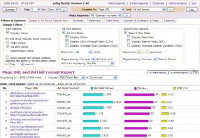 asRep: Google AdSense tracking script 1.40 screenshot