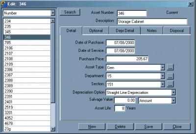 Asset Aide 2.00.0012 screenshot
