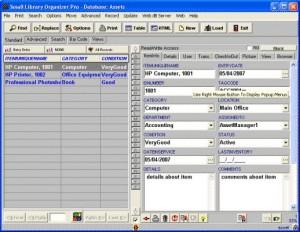Asset Organizer Deluxe 4.12 screenshot